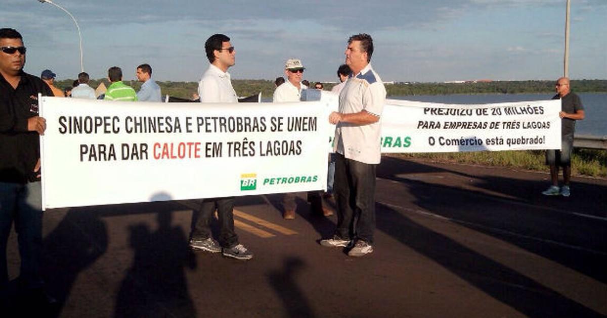 Protesto em MS gera lentidão em rodovia na região de Araçatuba - Globo.com