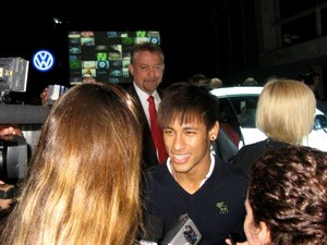 neymar entrevista volkswagen fusca beetle (Foto: Luciana de Oliveira/G1)