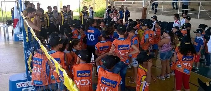 Expectativa é que mais de 200 crianças sejam atendidas no novo núcleo. (Foto: Valdivan Veloso/globoesporte.com)