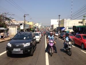 De acordo com sindicato, 90% das vítimas de acidentes de trânsito de Porto Velho pagam a terceiros para receber o seguro DPVAT (Foto: Vanessa Vasconcelos/G1)