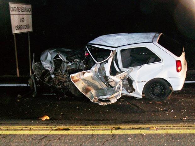 Condutor do Gol, de 22 anos, morreu em acidente em Farroupilha (Foto: Divulgação/CRBM)