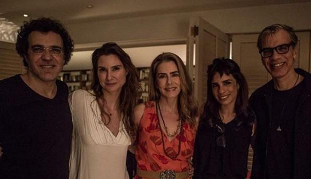 Paulinho Moska, Lavínia Vlasak, Maitê Proença, Maria Ribeiro e Celso Fonseca (Foto: Reprodução/Instagram)