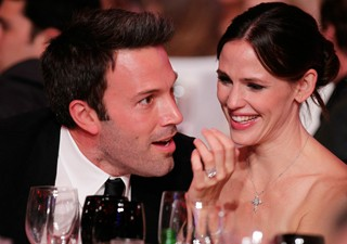 Ben Affleck e Jennifer Garner no Critics' Choice Movie Awards (Foto: Christopher Polk/AFP)