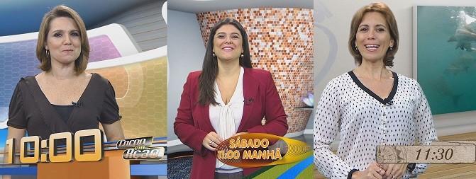 Novo horário dos programas de Sábado (Foto: Divulgação)