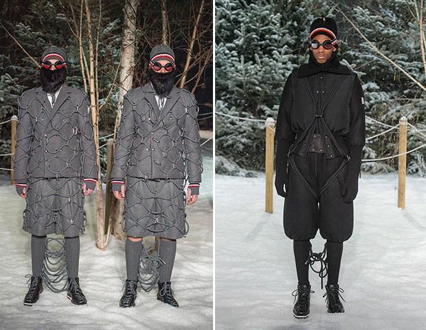 Moncler - Semana de Moda de Paris inverno 2017 (Foto: Imaxtree)