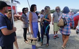 Elenco grava cenas finais na Barra da Tijuca