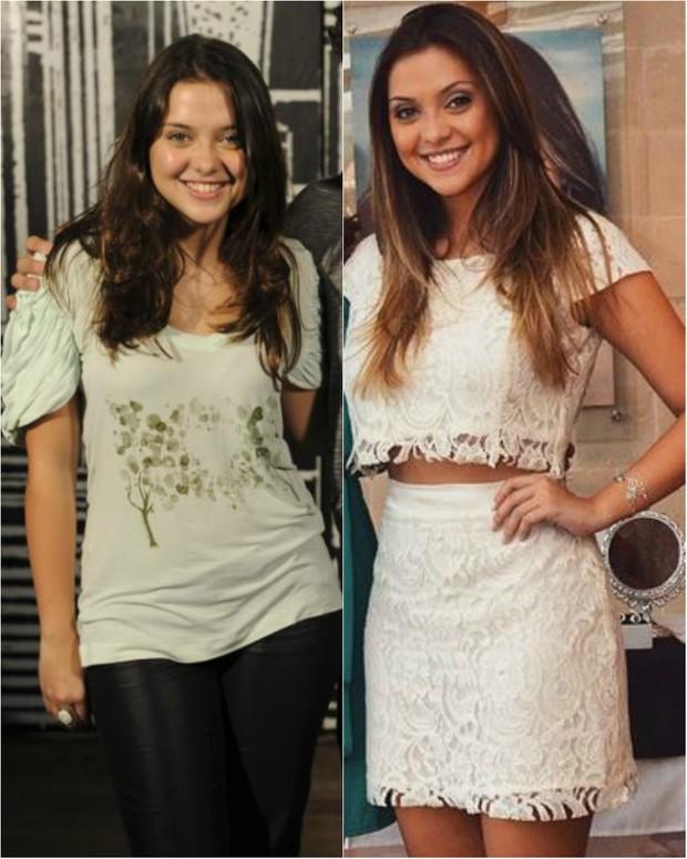 Antes e depois: Polliana Aleixo está com 50 quilos e revela segredos de beleza (Foto: Reprodução do Instagram)