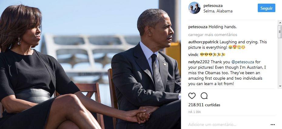 Post de Pete Souza no Instagram (Foto: Instagram/Reprodução)