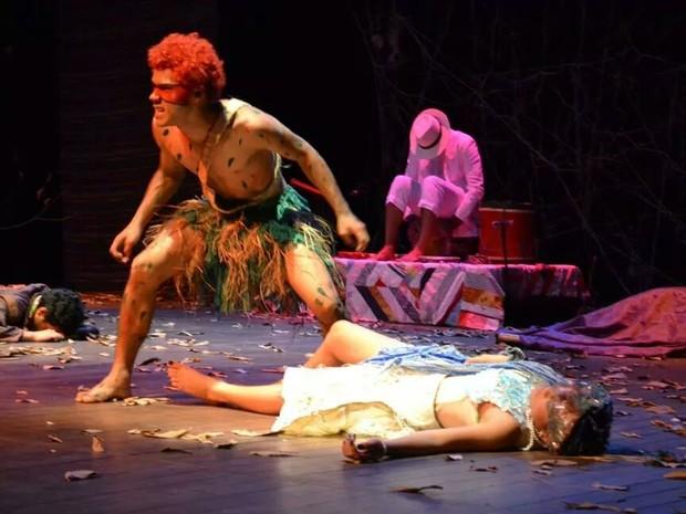 Espetáculo 'Curupira, um ser inesquecível' acontece no dia 15 de setembro (Foto: Divulgação)