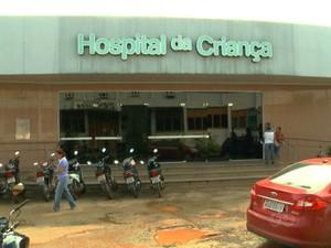 Hospital da Criança acre (Foto: Reprodução TV Acre)