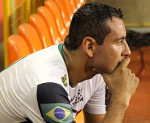 Clécio, zagueiro do Andirá (Foto: João Paulo Maia)