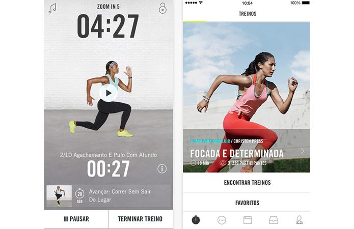 Use apps fitness no iPhone para monitorar seu desempenho na academia (Foto: Divulgação)