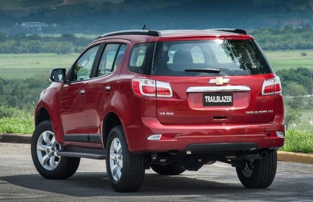 Sem grandes novidades, Chevrolet Trailblazer encarece R$ 4 mil na linha 2016 - AUTO ESPORTE ...