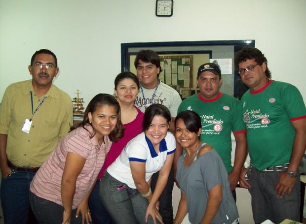 Mariana revela que fez grandes e boas amizades no trabalho (Foto: Arquivo Pessoal)