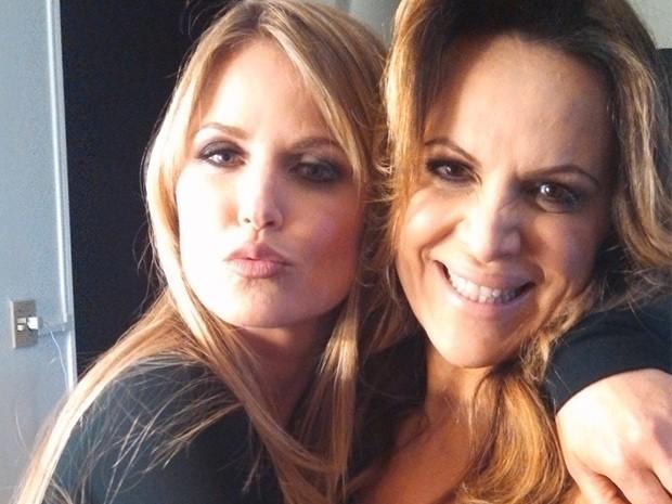 Susana Werner e Marinara Costa (Foto: Marcio Rangel/ Divulgação)