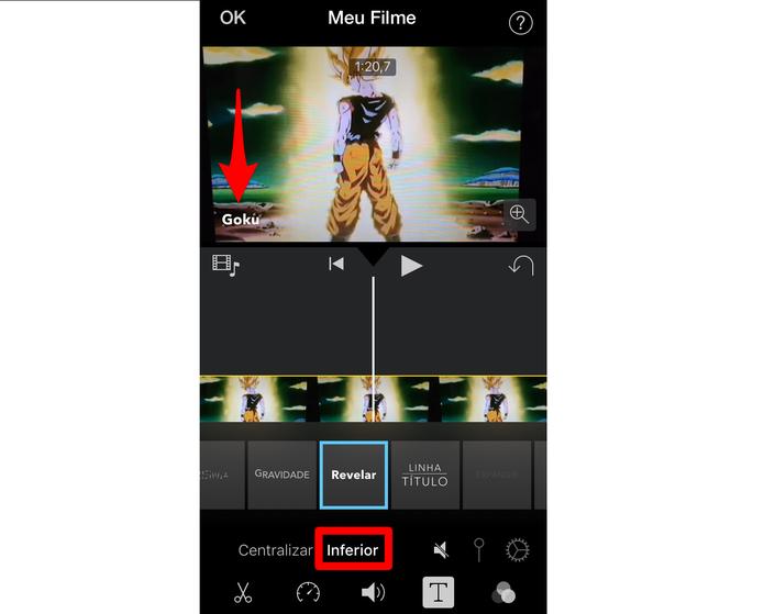 Como colocar texto em um vídeo no iMovie para iPhone | Dicas