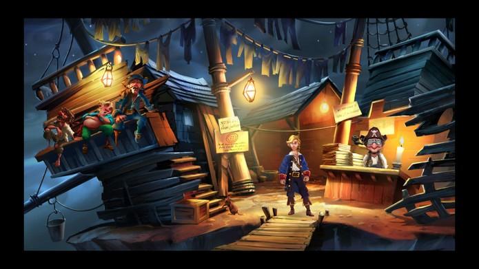 Monkey Island 2 Special Edition (Foto: Divulgação/LucasArts)