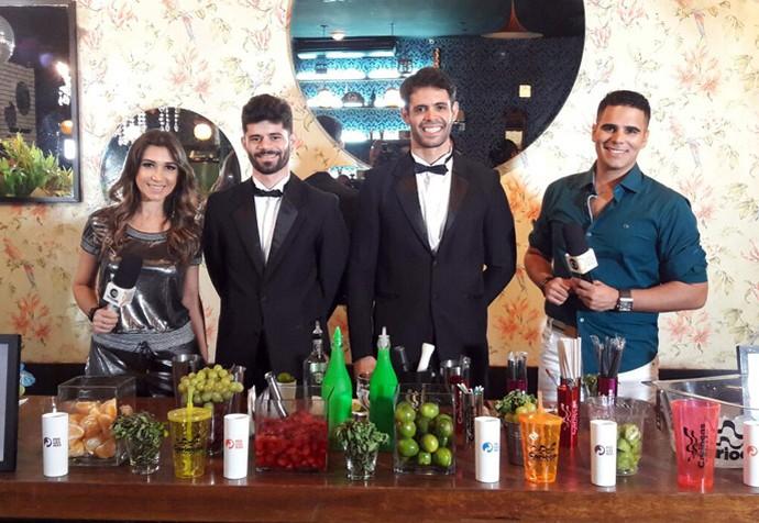 Dupla 'Os Cariocas' dá dicas de drinks para a festa da virada (Foto: Gshow/Rede Clube)