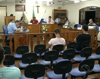 Câmara de vereadores de Paulo de Frontin (Foto: Reprodução: RJTV 1ª Edição)