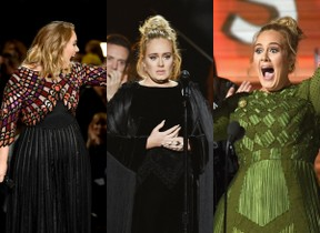 As melhores reações de Adele durante o Grammy (Foto: AFP / Agência)