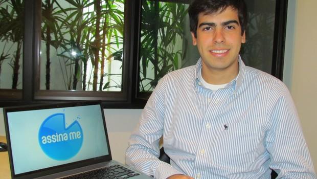 Fernando Nigri Wolff, diretor e fundador do AssinaMe (Foto: Divulgação)