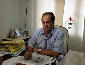 Diretor-geral da Autarquia Municipal de Esportes de Cacoal (Amec), Romeu Rodrigues Moreira (Foto: Paula Casagrande)
