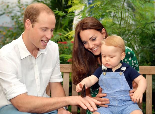 Principe George  (Foto: AKM-GSI BRASil / Splash News)