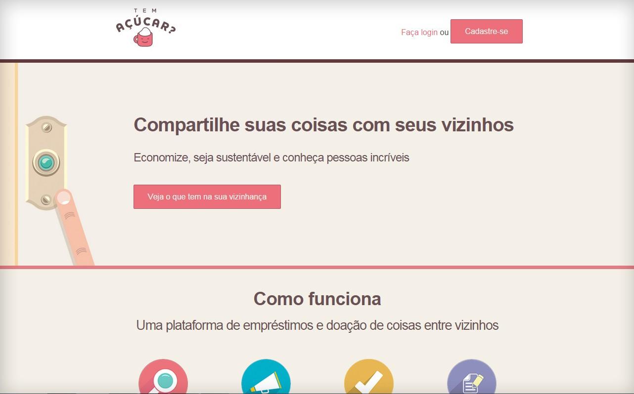 Site foi lançado em dezembro de 2014 (Foto: Reprodução)