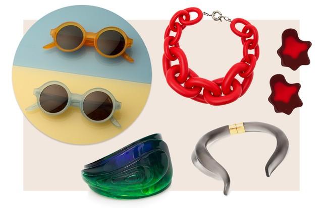 Nova coleção Vanda Jacintho e óculos da Lapima (Foto: Divulgação)