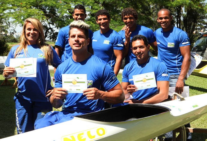 Canoagem recebe Bolsa Pódio (Foto: Divulgação)
