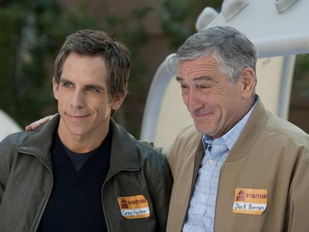 Greg (Ben Stiller) e Jack (Robert De Niro) parecem estar se entendendo (Foto: Divulgação / Reprodução)
