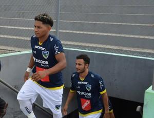 Fernandinho marcou o gol da vitória do Rondoniense (Foto: Jheniffer Núbia)