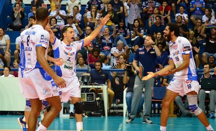 Vôlei Taubaté x Juiz de Fora (Foto: Danilo Sardinha/GloboEsporte.com)