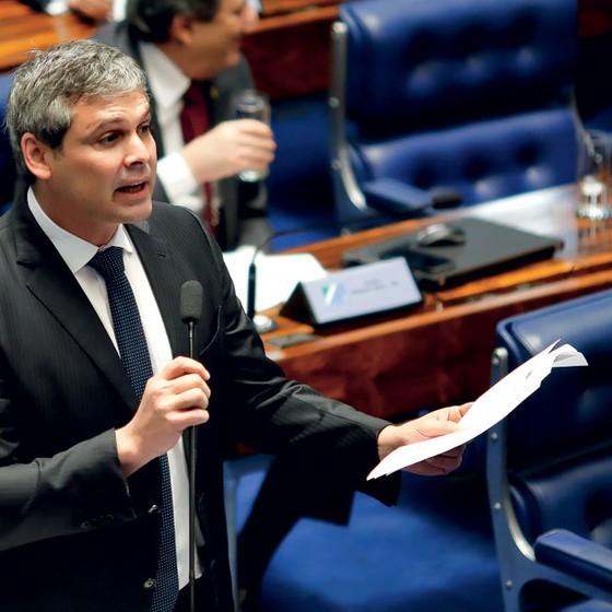 Senador Lindbergh  Farias (Foto: Sérgio Lima/ÉPOCA)