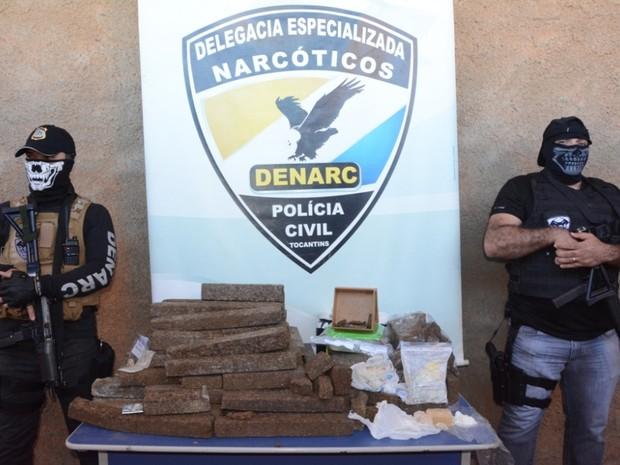 Drogas foram apreendidas em operações da Denarc (Foto: Polícia Civil/Divulgação)