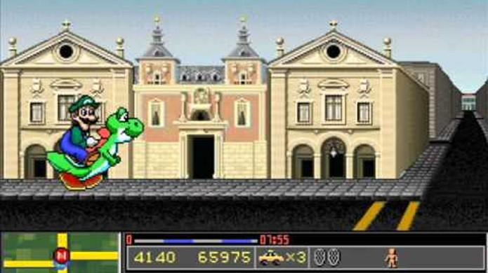 Mario is Missing trazia gráficos elaborados no PC porém artisticamente bem feios (Foto: Reprodução/YouTube)