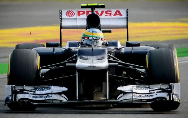 Bruno Senna no GP da Coreia (Foto: AFP)