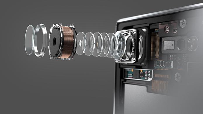 Xperia XZ Premium tem sensor Motion Eye com gravação em super câmera lenta (Foto: Reprodução/Elson de Souza)