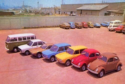 Linha VW 1976 - internet (Foto: Arquivo)