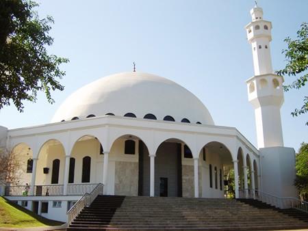 Mesquita Omar Ibn Al-Khattab (Foto: Prefeitura de Foz do Iguaçu)