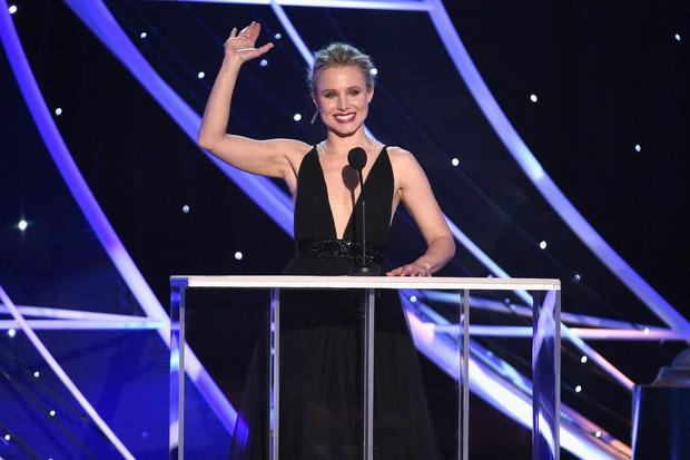 Kristen Bell na apresentação do Sag Awards (Foto: getty images)