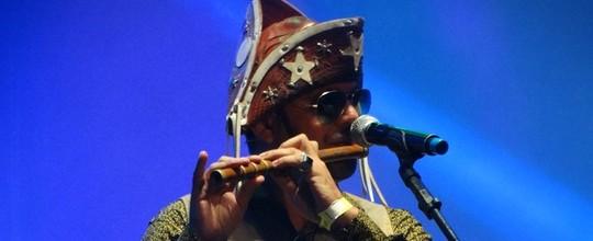 'Ninguém vai acabar com a cultura popular', diz músico (Lafaete Vaz/G1)