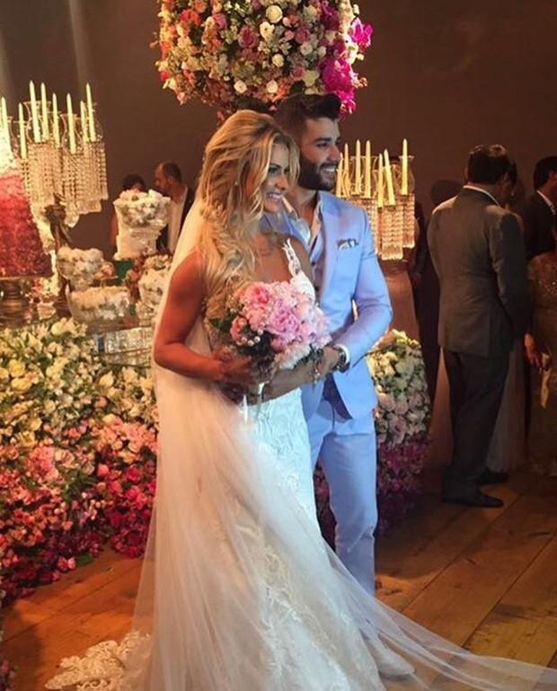 Gusttavo Lima e Andressa Suita (Foto: Reprodução / Instagram)
