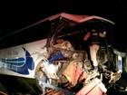 Acidente entre ônibus e caminhão deixa 19 feridos no Paraná, diz PRF