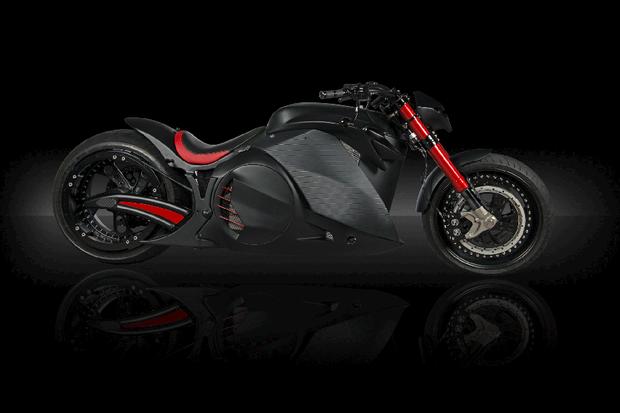 Motocicleta elétrica Zvexx (Foto: Divulgação)