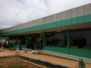 Hospital Regional de Vilhena (Foto: Jonatas Boni/G1)