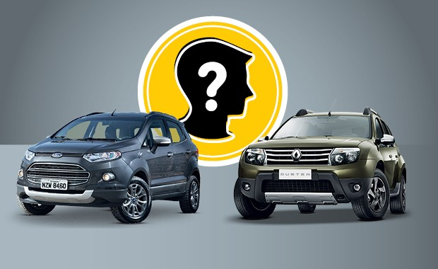Que carro eu compro: Renault Duster e Ford EcoSport (Foto: Autoesporte)