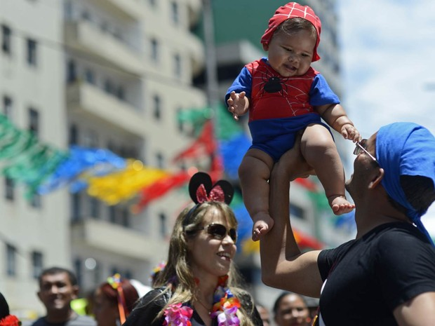 Bebês por toda parte (Foto: Luka Santos/G1)