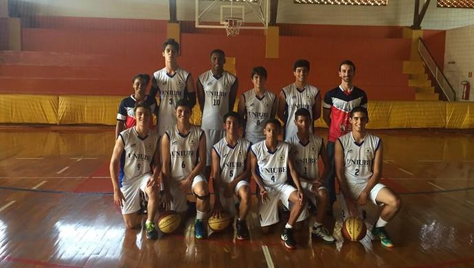 sub-17 Uberaba basquete Copa Revelar Basquete (Foto: Fernando Garbin/ Arquivo Pessoal)