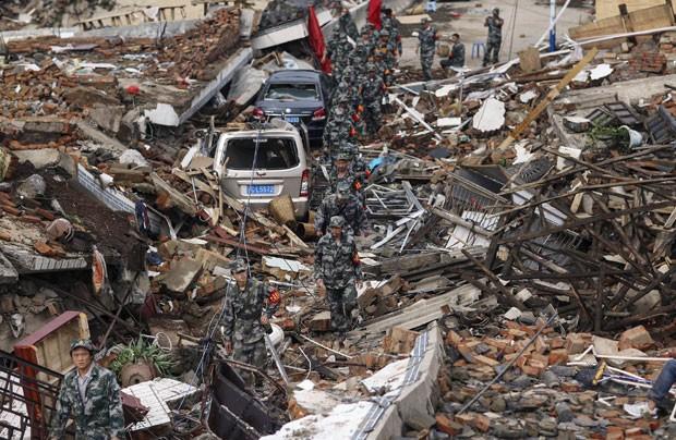 Resultado de imagem para terremoto china